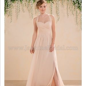 Jasmine bridesmaid dress in Misty Pink (Gardenia)